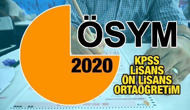 Kpss Lisans Konuları 2020