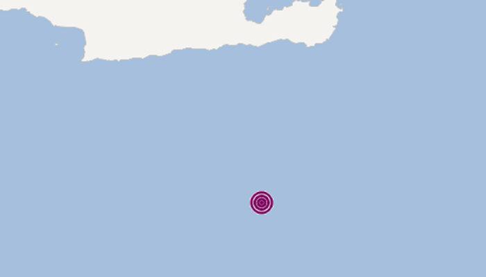 Son dakika: Girit Adası açıklarında 6.4 büyüklüğünde deprem