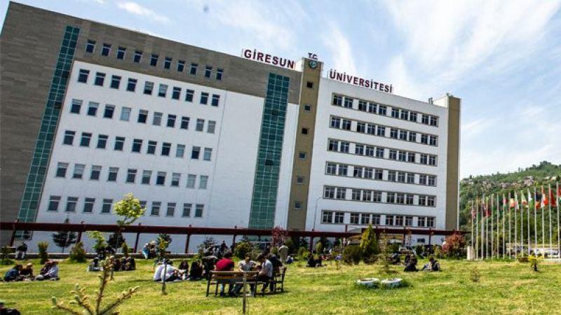 Giresun Üniversitesi 15 Öğretim Üyesi Alımı Yapacak